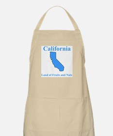 California Land of Fruits and Nuts BBQ Apron