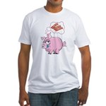 Pigs Love Bacon Fitted T-Shirt