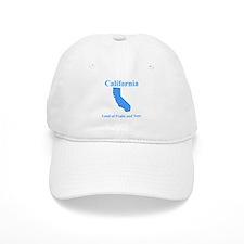 California Land of Fruits and Nuts Baseball Baseball Cap