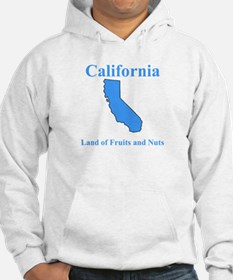California Land of Fruits and Nuts Hoodie