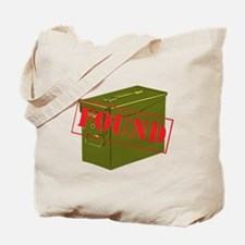 Found Stamp Tote Bag