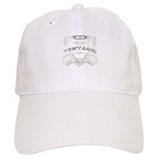 Vintage 80th Birthday Baseball Cap