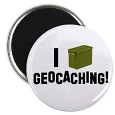 I (Ammo Can) Geocaching Magnet