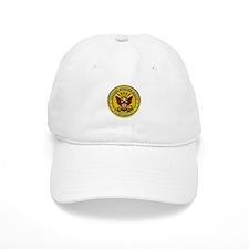 US Navy Veteran Gold Chained Baseball Cap