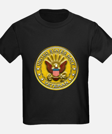 US Navy Veteran Gold Chained T