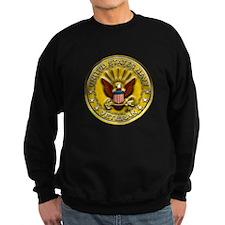 US Navy Veteran Gold Chained Sweatshirt