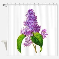 Pierre-Joseph Redoute Botanical Shower Curtain