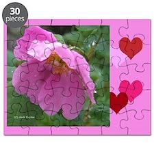 Alaska Wild Rose Puzzle