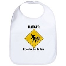 Danger Explosive Gas In Rear Bib