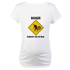 Danger Explosive Gas In Rear Shirt
