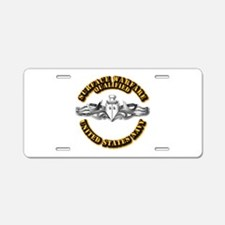 Navy - Surface Warfare - Silver Aluminum License P