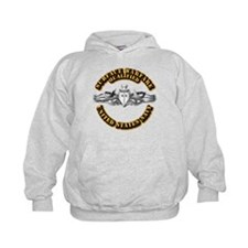 Navy - Surface Warfare - Silver Hoodie