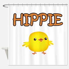 Hippie Chick Shower Curtain