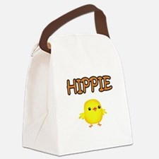 Hippie Chick Canvas Lunch Bag
