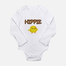 Hippie Chick Long Sleeve Infant Bodysuit