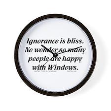Ignorance/Windows... Wall Clock