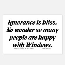 Ignorance/Windows... Postcards (Package of 8)