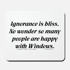 Ignorance/Windows... Mousepad