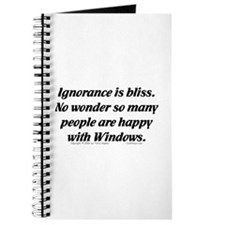 Ignorance/Windows... Journal