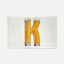 K Beer Rectangle Magnet