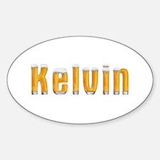 Kelvin Beer Oval Decal