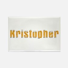 Kristopher Beer Rectangle Magnet