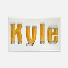 Kyle Beer Rectangle Magnet