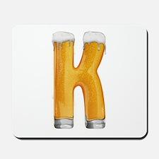 K Beer Mousepad