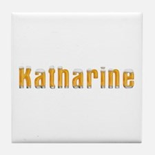 Katharine Beer Tile Coaster