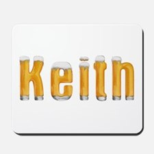 Keith Beer Mousepad