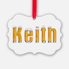 Keith Beer Ornament