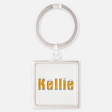 Kellie Beer Square Keychain