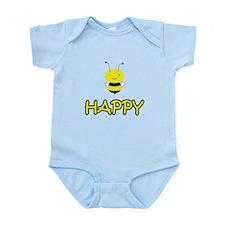 Bee Happy Infant Bodysuit