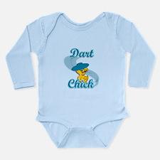 Dart Chick #3 Long Sleeve Infant Bodysuit