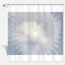 Illusion Of A Cloud Shower Curtain