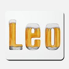 Leo Beer Mousepad