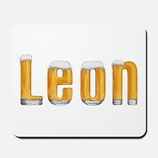Leon Beer Mousepad