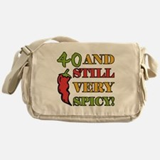 Spicy At 40 Years Old Messenger Bag
