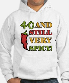 Spicy At 40 Years Old Hoodie