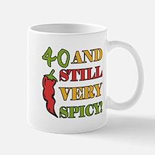 Spicy At 40 Years Old Mug