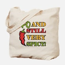 Spicy At 40 Years Old Tote Bag