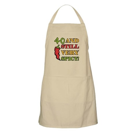 Spicy At 40 Years Old Apron