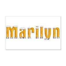 Marilyn Beer 22x14 Wall Peel