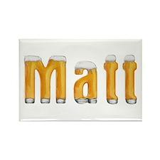 Matt Beer Rectangle Magnet