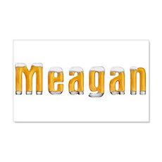 Meagan Beer 22x14 Wall Peel