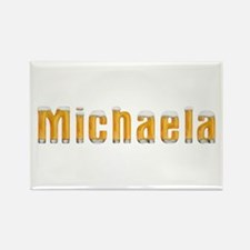 Michaela Beer Rectangle Magnet