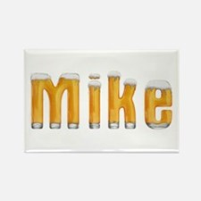 Mike Beer Rectangle Magnet