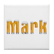 Mark Beer Tile Coaster