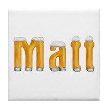 Matt Beer Tile Coaster
