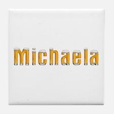 Michaela Beer Tile Coaster